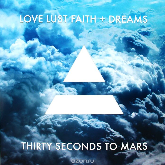 30 Seconds To Mars. Love Lust Faith + Dreams (LP)