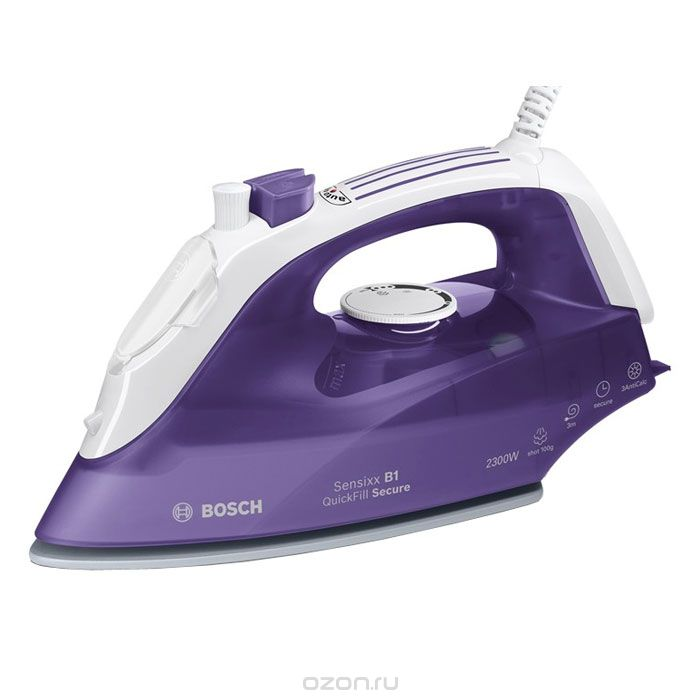 Bosch TDA2680, Purple White утюг