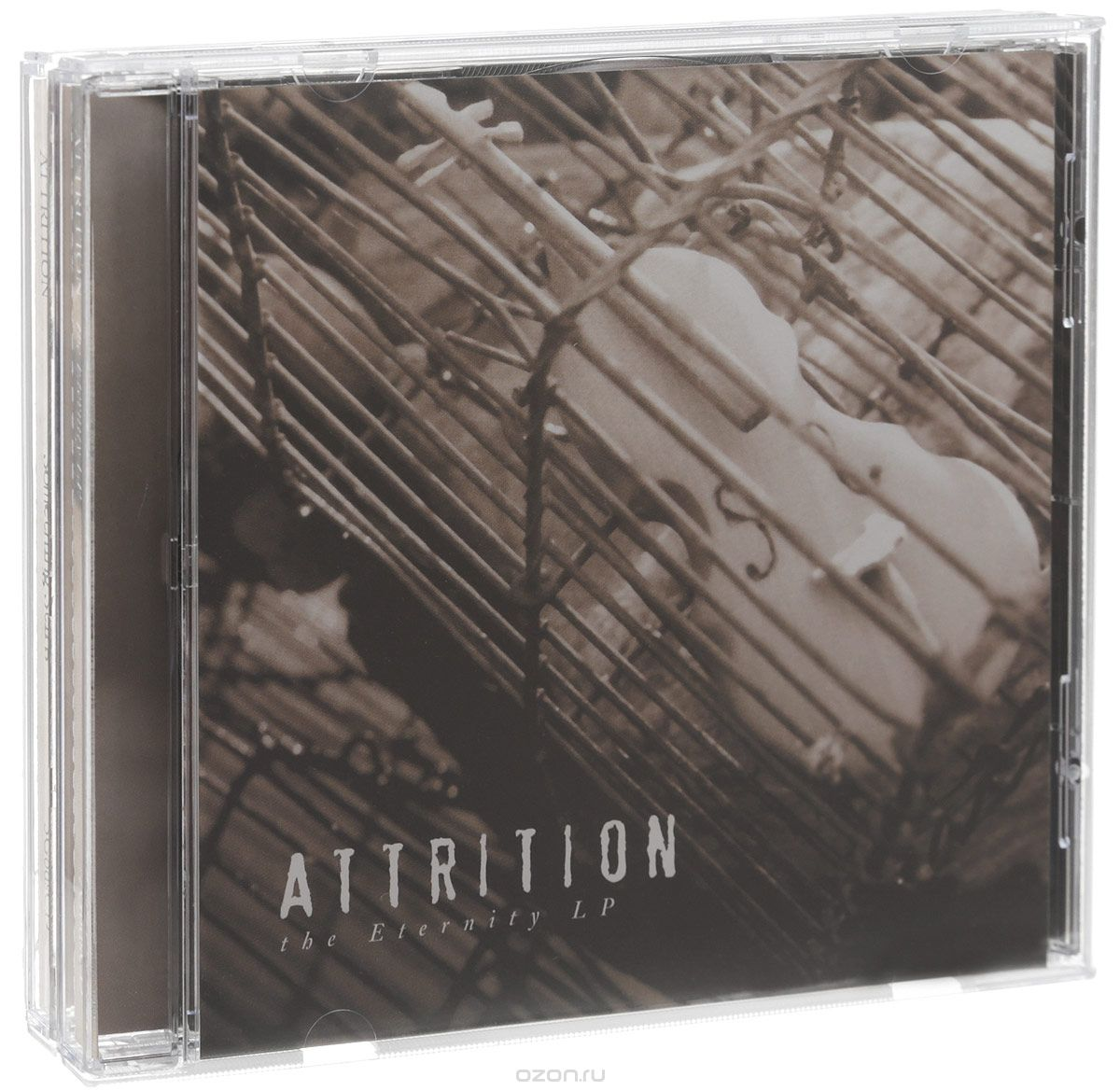 Attrition. Something Stirs / Eternity LP (2 CD)