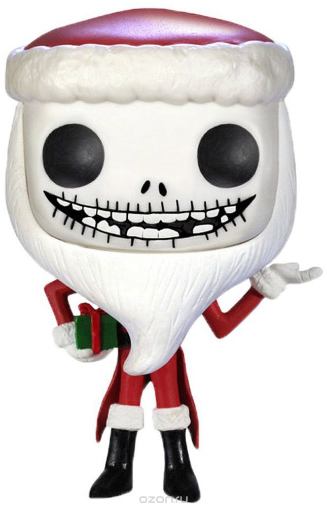 Funko POP! Vinyl Фигурка Nightmare Before Christmas: Santa Jack Skellington
