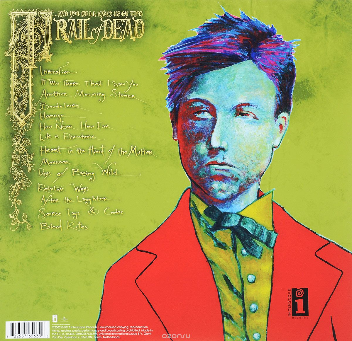 ...And You Will Know Us By The Trail Of Dead. Source Tags & Codes (2 LP)