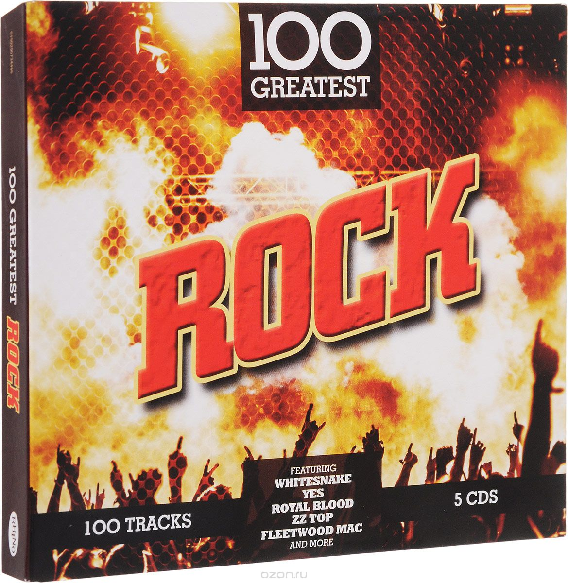 100 Greatest Rock (Special Price Limited Time) (5 CD)